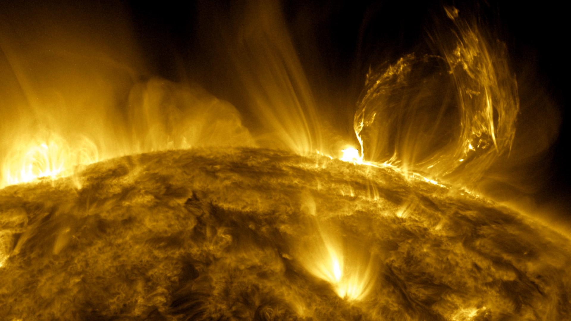 Фото поверхности солнца